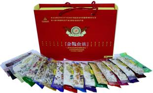 张家口特产 精品杂粮系类—杂粮食族(礼品盒)