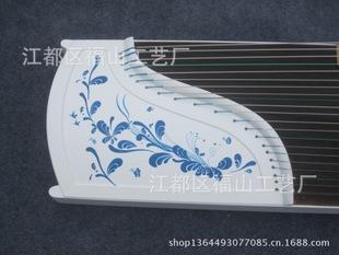 扬州古筝 厂家批发 红木白色高档演奏古筝 青花瓷淡雅款古筝