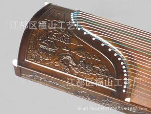 扬州古筝 厂家特价批发 金丝楠木山水款高档收藏古筝