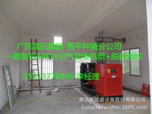 养殖场专用120KW沼气发电机组/黑膜沼气工程配套发电
