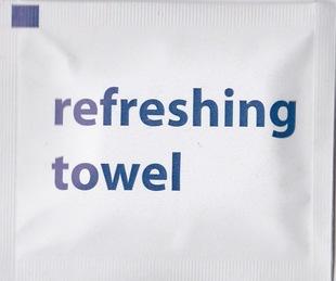 航空湿纸巾