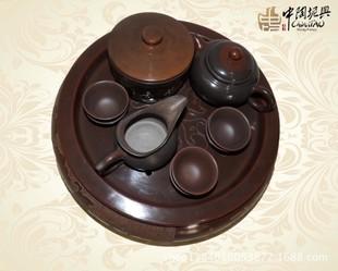 供应四大名陶 坭兴陶古陶茶具