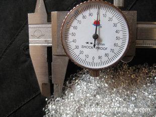 天然白黄玉RD2.0mm(打造RD3.0mm以下之全球最大白黄玉制造商)