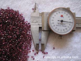 天然紫石榴RD2.5mm(打造RD3.0mm以下之全球最大彩色宝石制作商)