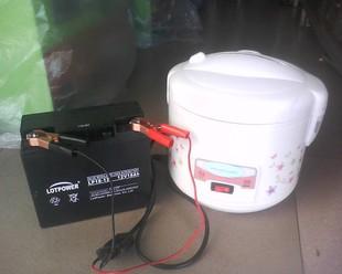 太阳能专用纯直流电饭煲