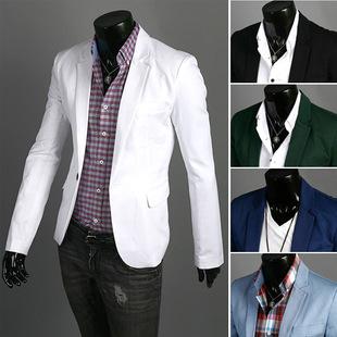 外贸款男士西服 批发男士西装 一粒扣男士休闲便服上衣 西装男