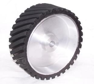 砂带机橡胶轮 铝芯橡胶轮 抛光橡胶轮 打磨橡胶轮 可定做