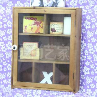 爱尚艺家家具批发 欧美式杂货收纳柜 实木收纳柜 一件代发柜子