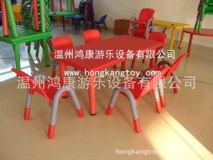 【特价供应】幼儿园塑料桌子 儿童学习塑料桌子 幼儿园专用桌子