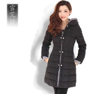女装韩版冬装外套加厚棉衣女中长款大码羽绒棉服反季清仓棉袄特价