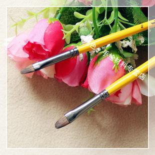 手绘t恤专用排笔 水墨画 水粉笔 水彩画笔 国画用排笔油画笔 单支