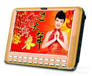 多来米KK99 9寸视频机 扩音器 高清唱戏机全格式数字点歌看戏机