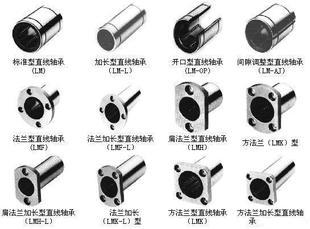 直线轴承,NSK直线轴承,SKF直线轴承,LM系列直线轴承大全