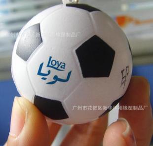 (可定制,可印刷)PU足球压力球 PU发泡足球 减压球