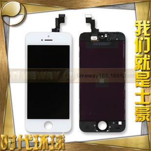 苹果5s屏幕iphone 5s手机液晶屏幕总成iphone5s显示-苹果五代液晶屏