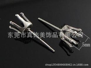 现货供应不锈钢爪针 爪锆石耳针 六爪耳钉 多规格爪钉 六爪针