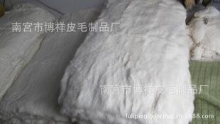 厂家直销兔毛整皮褥子支持定做皮草褥子兔毛欠褥子定做狐狸毛褥子