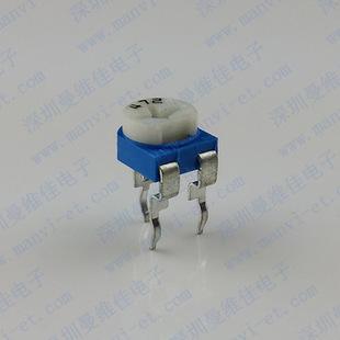电位器蓝白可调电位器精密电位器小型电位器微型电位器