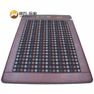 厂家直销玉石加热床垫 锗石床垫 混石床垫  网面玉石床垫