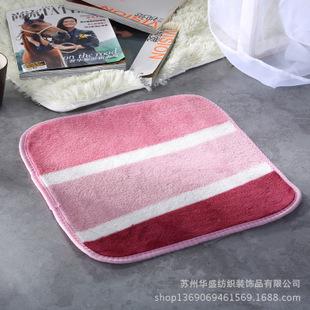 珊瑚绒小地垫 小门垫 多用途放置垫 热水瓶隔垫防水垫