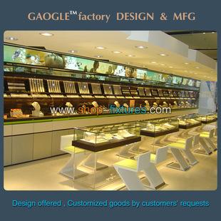 专业定制珠宝首饰柜 精品展示柜设计 厂家生产