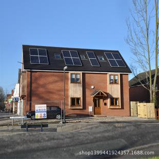 厂家供应别墅屋顶太阳能电站 家用屋顶光伏电站