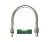 供应GJU2-带衬垫U型管夹 西德福管夹 标准管夹 管夹销售价格