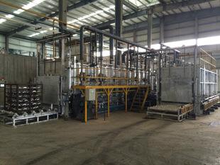 供应连续式天燃气铝合金T6热处理炉