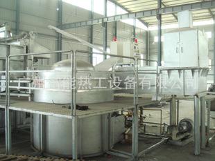 带铝锭预热室的燃气坩埚式熔化/保温炉  天然气熔化炉
