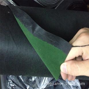 墨绿色植绒布