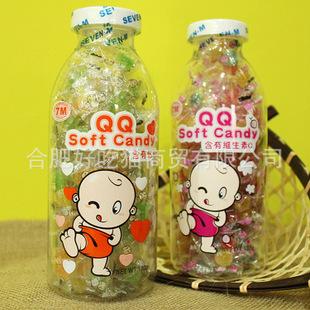 休闲食品零食 泰国进口 7M品牌 菠萝味 含钙QQ软糖 促销