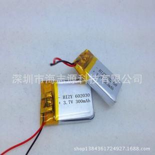 智能安防充电电池 耐80度高温聚合物锂电池图片