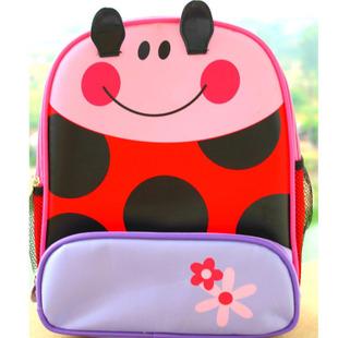 个性可爱动漫瓢虫小学生书包