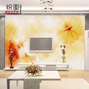 中厅客厅雕刻花图片