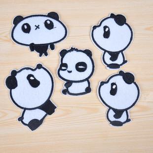 布贴画图片大全动物熊猫