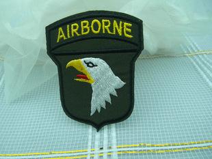 军队风军标缝纫材料布贴徽章勋布贴衣服贴胸章服饰修补贴批发订做