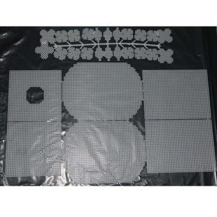 立体绣材料标准7ct西瓜纸巾盒塑料网片