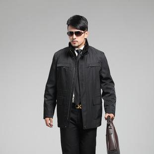 男装尼克服 男士棉衣外套水貂领水貂内胆貂皮大衣男水貂尼克服