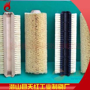 厂家直销毛刷辊、清洗机毛刷辊、钢丝毛刷辊、工业毛刷辊尼龙刷辊