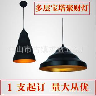 欧式现代铝吊灯罩e27螺品灯头餐厅灯咖啡厅吧台灯