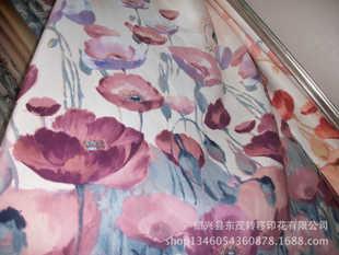 定位类花型加工-各类家居家纺面料转移印花加工