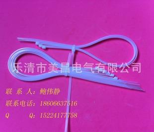塑料扎带 温州塑料扎带生产厂家 5*300自锁式尼龙扎带