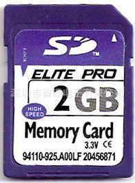 厂家大量供应 加工SD卡 代生产SD卡 批发SD 2GB