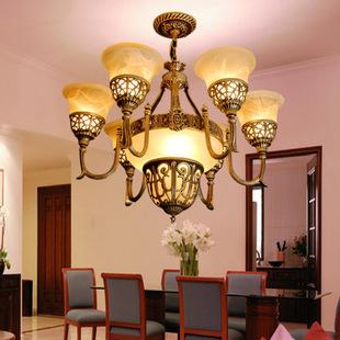 铁艺灯具欧式吊灯 客厅吸顶灯