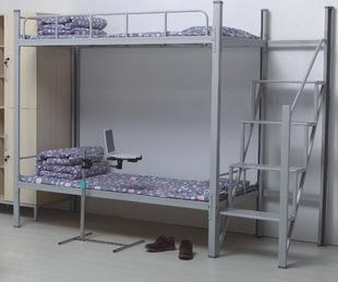 楼梯式爬梯组合双层床高低床上下床学生床职工宿舍床
