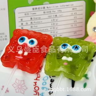 2011新款16克海绵宝宝QQ软糖批发