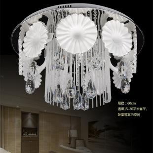 新款欧式现代水晶灯led客厅吸顶灯饰古镇卧室灯具
