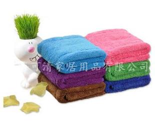 淘分销珊瑚绒擦手巾擦车抹布吸水百洁布干发巾日用百货日用百货64