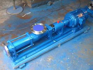 G系列单螺杆泵   定子由无毒无味的食用材质制造