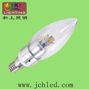 LED蜡烛灯/ 3W蜡烛灯/拉尾蜡烛灯/叉形蜡烛灯/三星灯珠